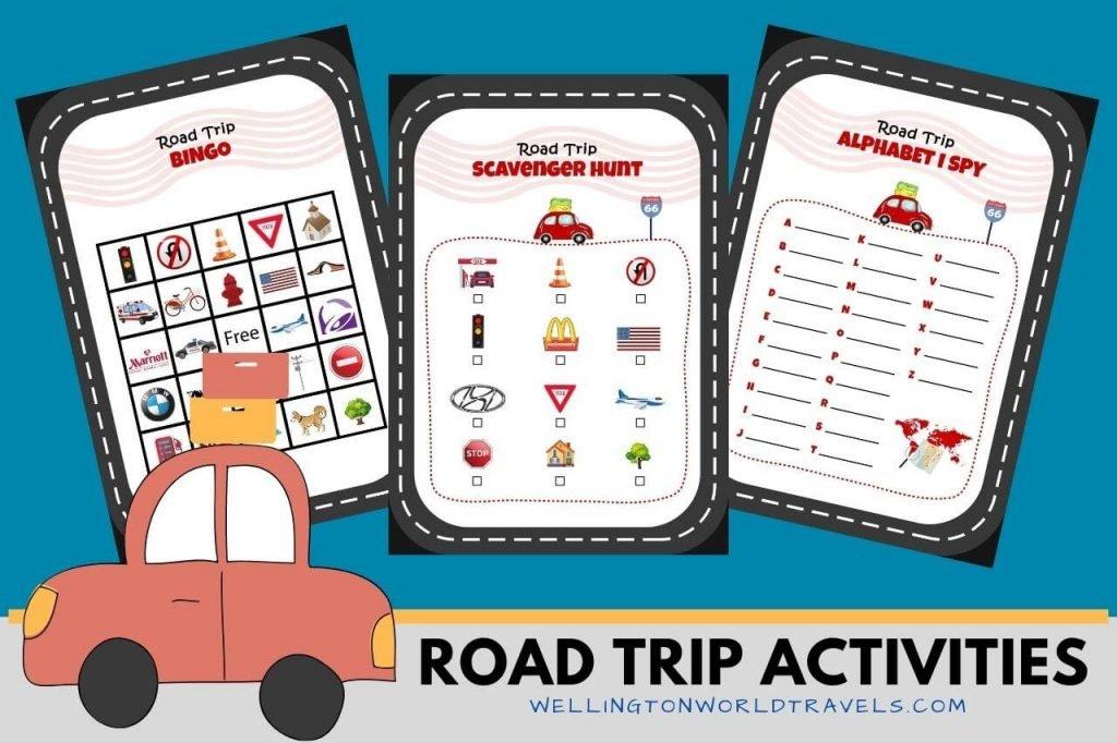 Road Trip Activities for Kids - Wellington World Travels