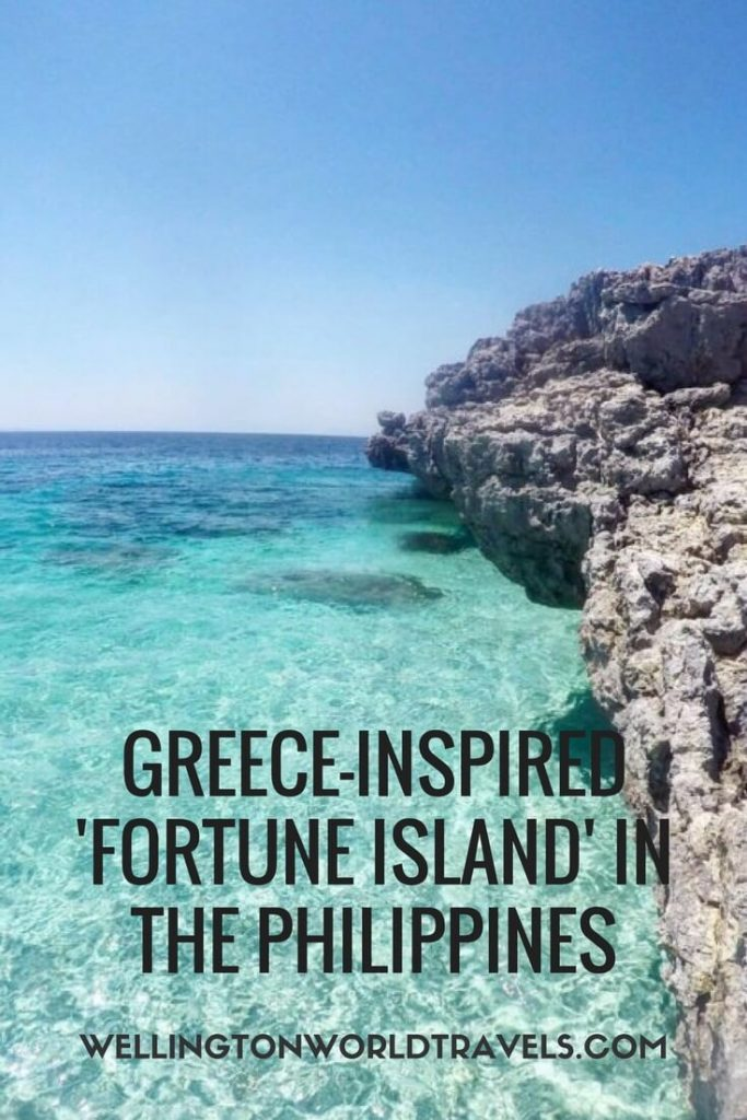Greece-inspired Fortune Island in the Philippines