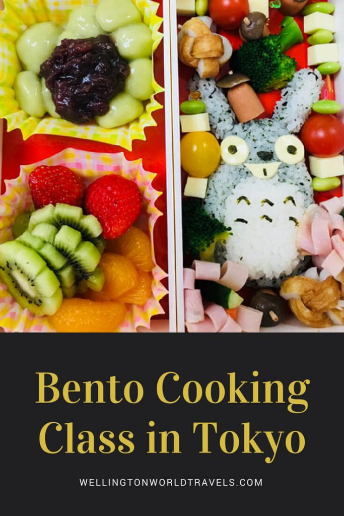Bento Cooking Class in Tokyo - Wellington World Travels