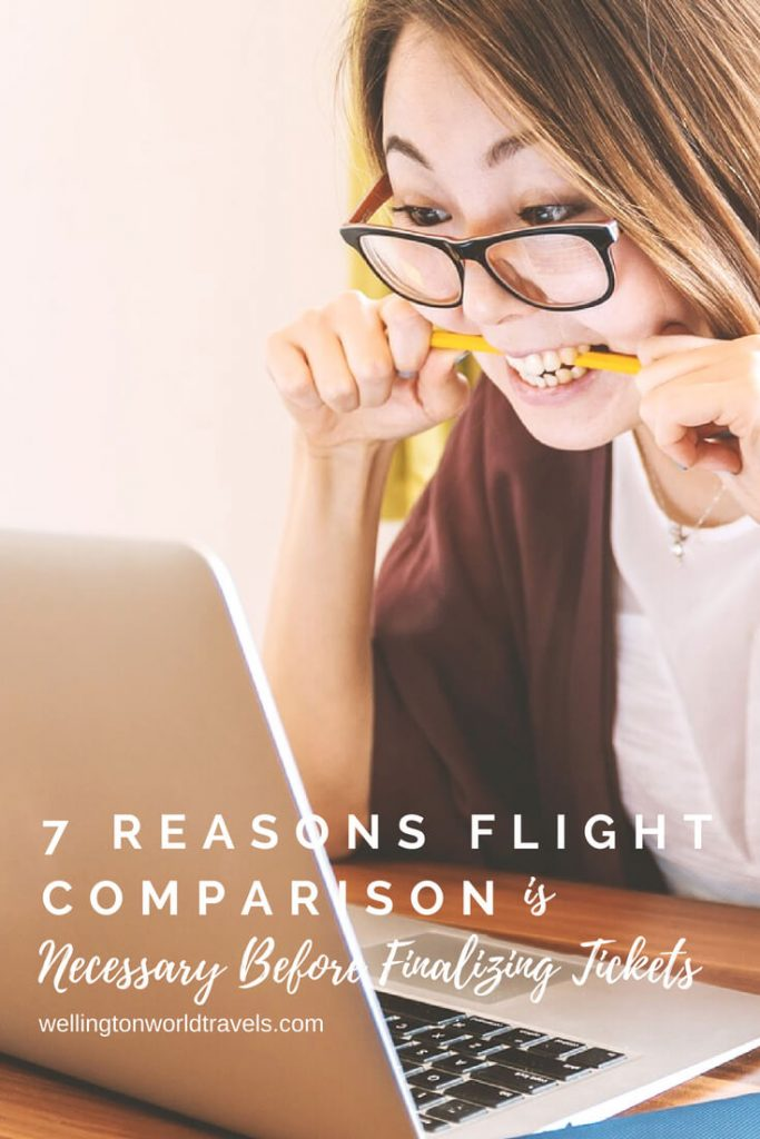 7 Reasons Flights Comparison is Necessary Before Finalizing Tickets - Wellington World Travels
