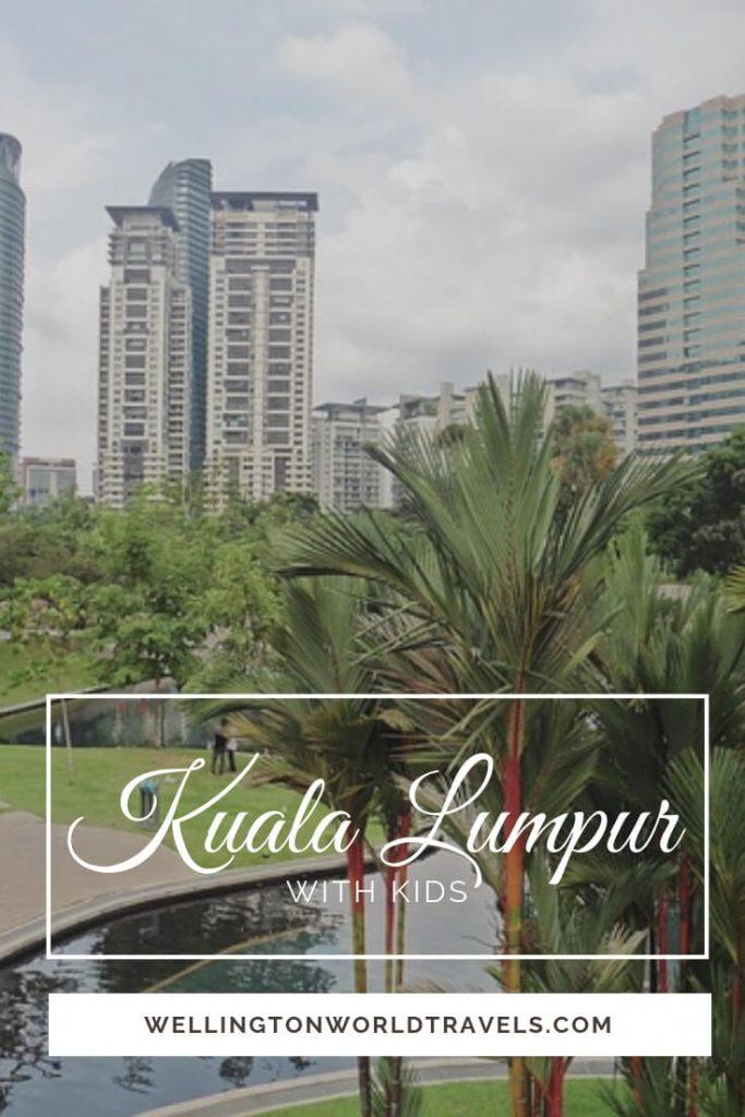 Kuala Lumpur with Kids: KL Tower, Mini Zoo, Aquarium - Wellington World Travels | family travel destination and tip when visiting Kuala Lumpur #travelwithkids #familytravel