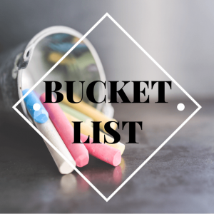 Wellington World Travels - Bucket List